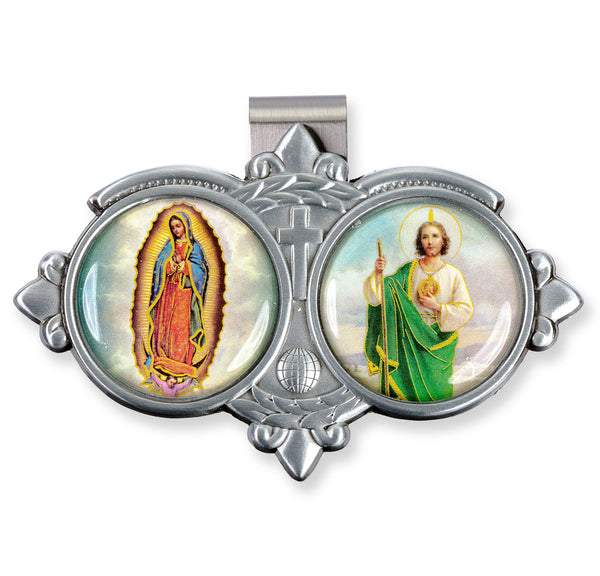 St. Jude & Our Lady of Guadalupe Vistor Clip