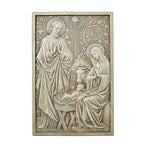 "Nativity 12"" Garden Plaque Indoor or Outdoor Christmas by Avalon Gallery D1035"