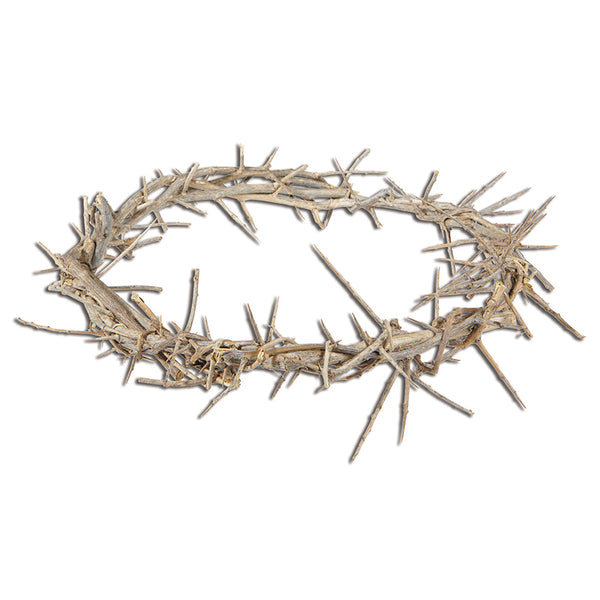 "11"" Crown of Thorns NEW Great for Lent Made in Israel Autom WS342"