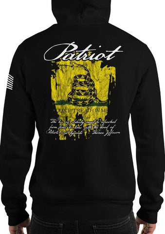 Patriot Gadsden Flag Founding Fathers Quote Hoodie / Sweatshirt