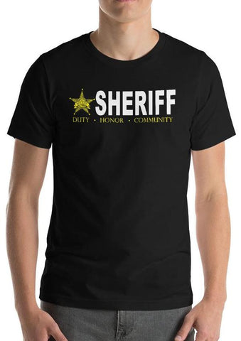 "Sheriff ""Duty, Honor, Community"" T-Shirt"