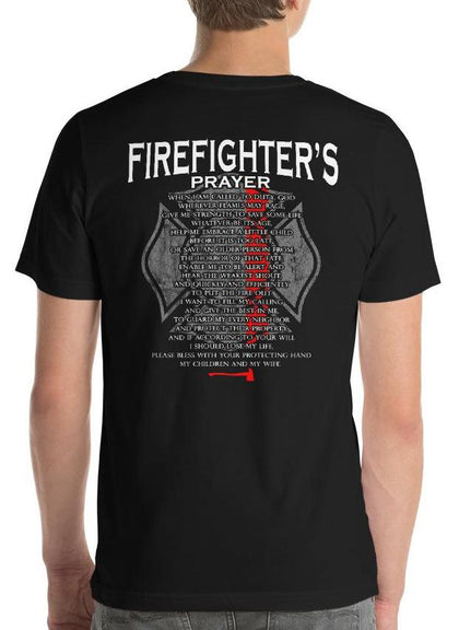 Firefighter's Prayer, Thin Red Line T-Shirt