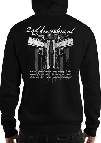 2nd Amendment 1911 Pro-Gun Hoodie / Sweatshirt
