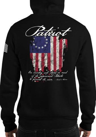 Patriot 1776 American Flag Founding Fathers Quote Hoodie / Sweatshirt