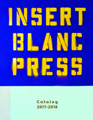 Insert Blanc Press Catalog