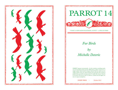 PARROT 14 Fur Birds by Michelle Detorie