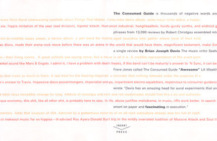 The Consumed Guide by Brian Joseph Davis