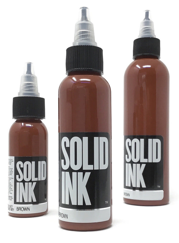 Solid Ink - Single Bottle - Brown