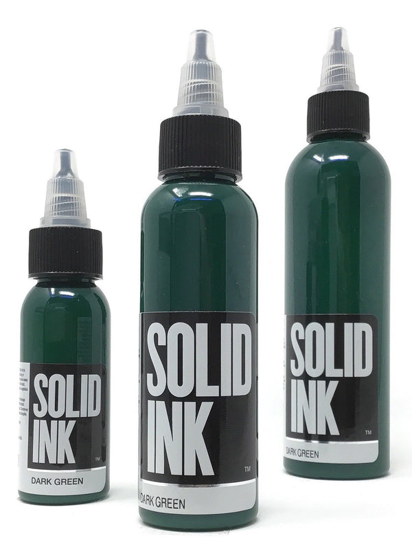 Solid Ink - Single Bottle - Dark Green