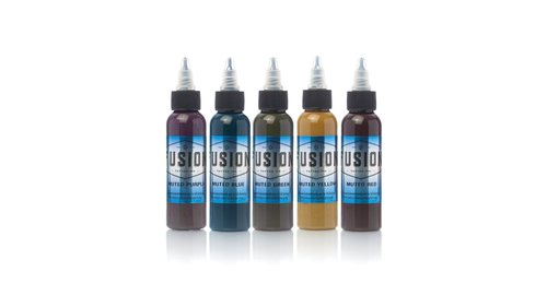 Fusion - Set - Muted Color Set (2oz)