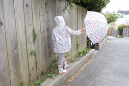 Pluie Pluie Girls Polka Dot Umbrella