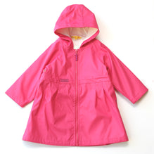 Solid Fuchsia Raincoat