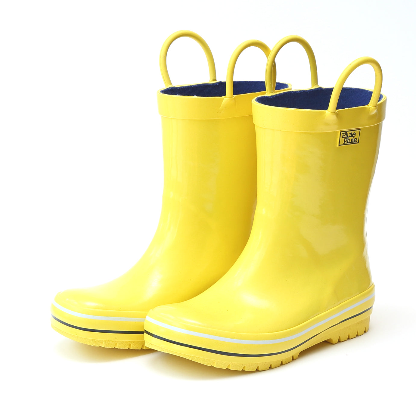 Pluie Pluie Boys Solid Yellow Rain Boot