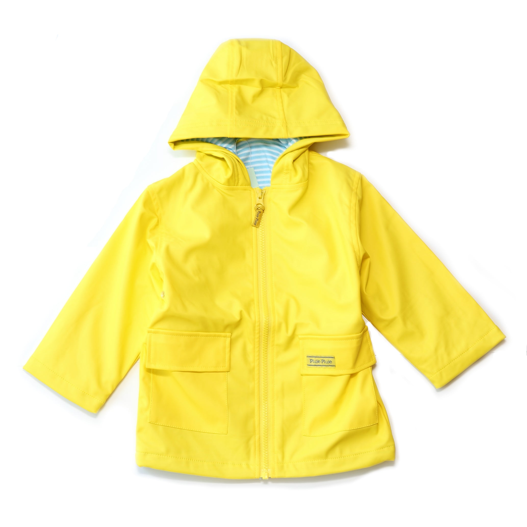 Pluie Pluie Boys Solid Yellow Raincoat