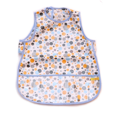Pluie Pluie Girls Multi Dot Waterproof Bib