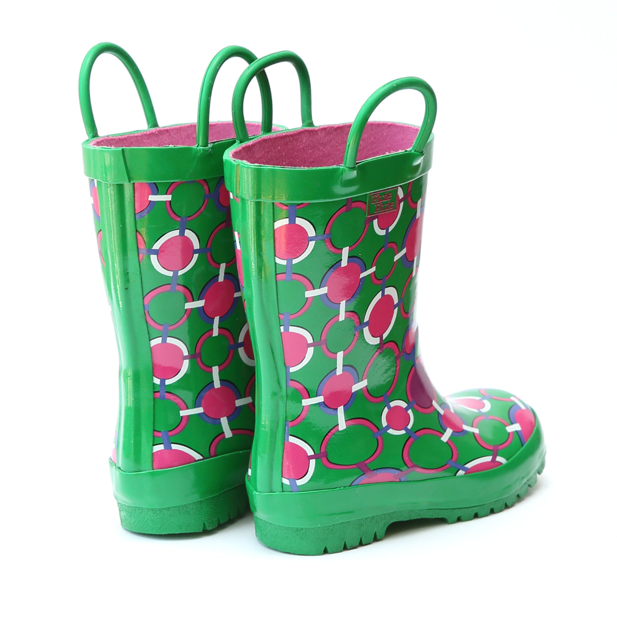 Pluie Pluie Girls Circle Chain Rain Boot