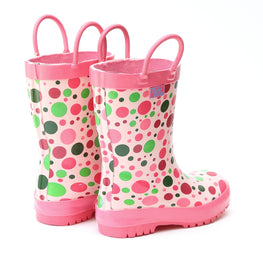 Pluie Pluie Girls Candy Dot Rain Boot