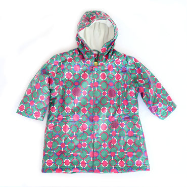 Pluie Pluie Girls Circle Chain Raincoat