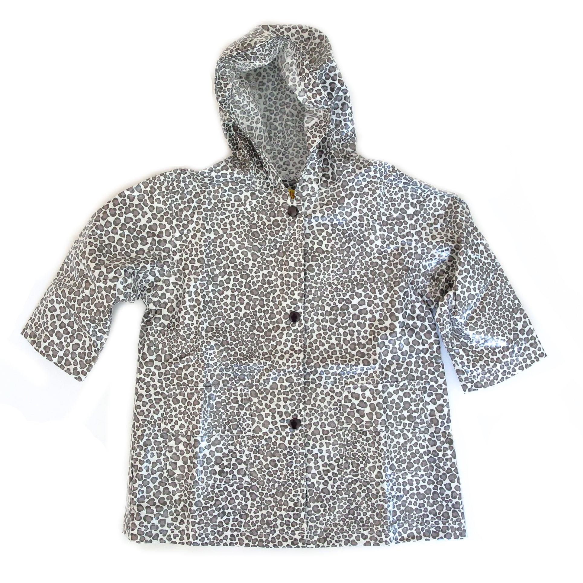 Pluie Pluie Girls Leopard Raincoat