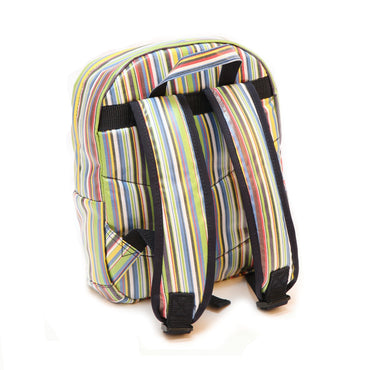 Pluie Pluie Boys Blue Stripe Backpack