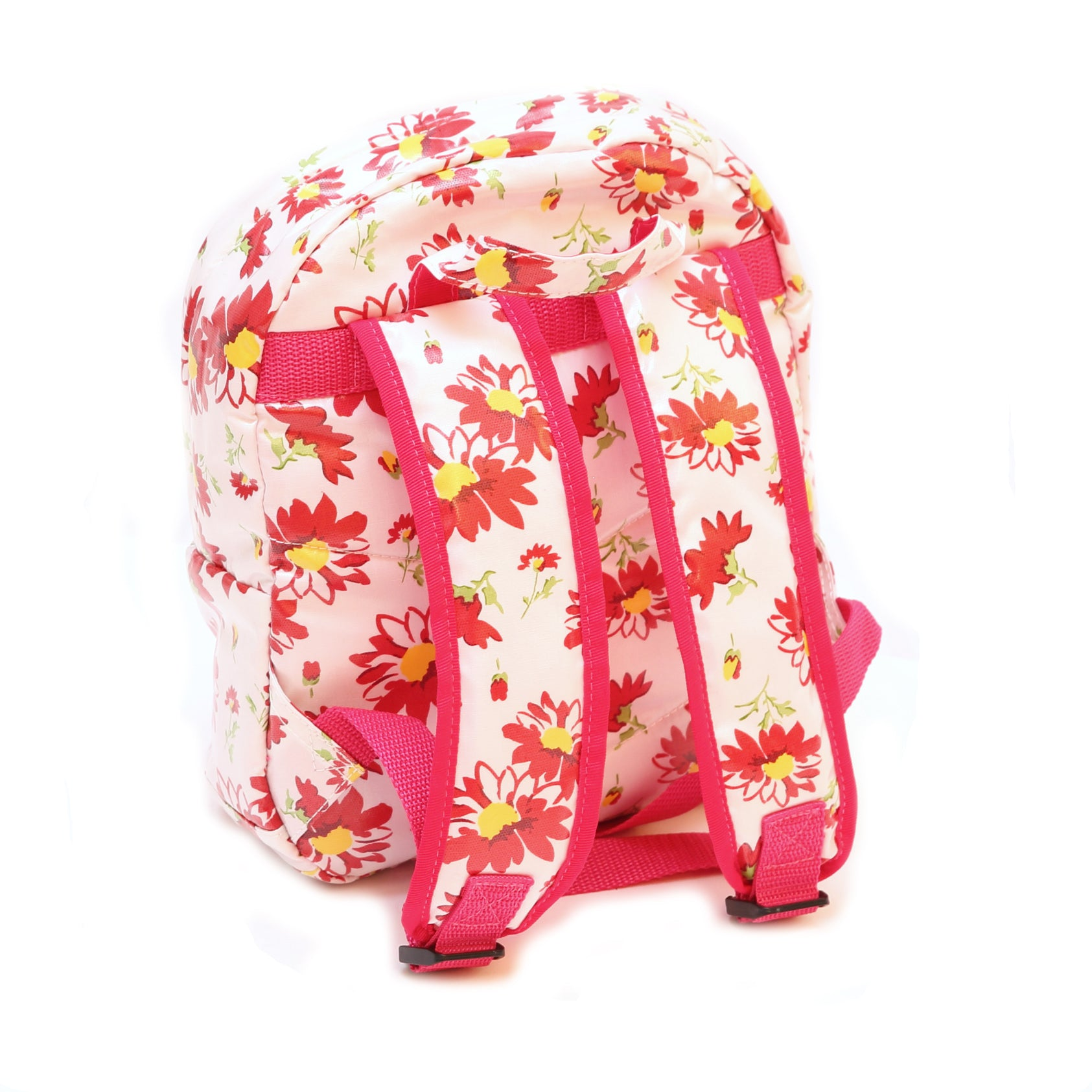 Pluie Pluie Girls Red Flower Backpack