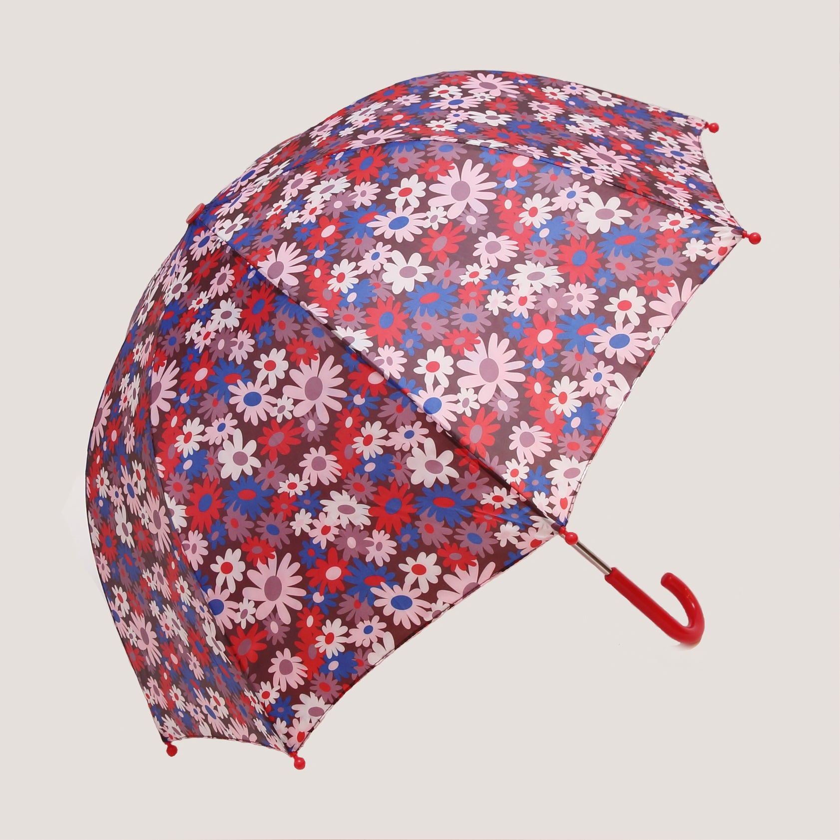 Pluie Pluie Brown Flower Umbrella