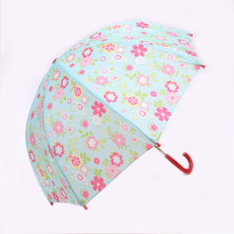 Pluie Pluie Girls Blue Floral Umbrella