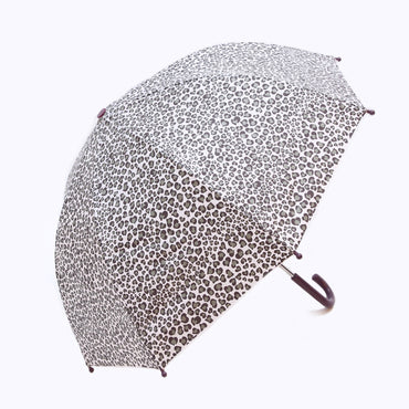 Pluie Pluie Girls Leopard Print Umbrella