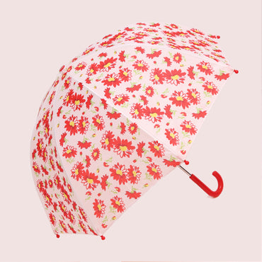 Pluie Pluie Girls Red Flower Umbrella