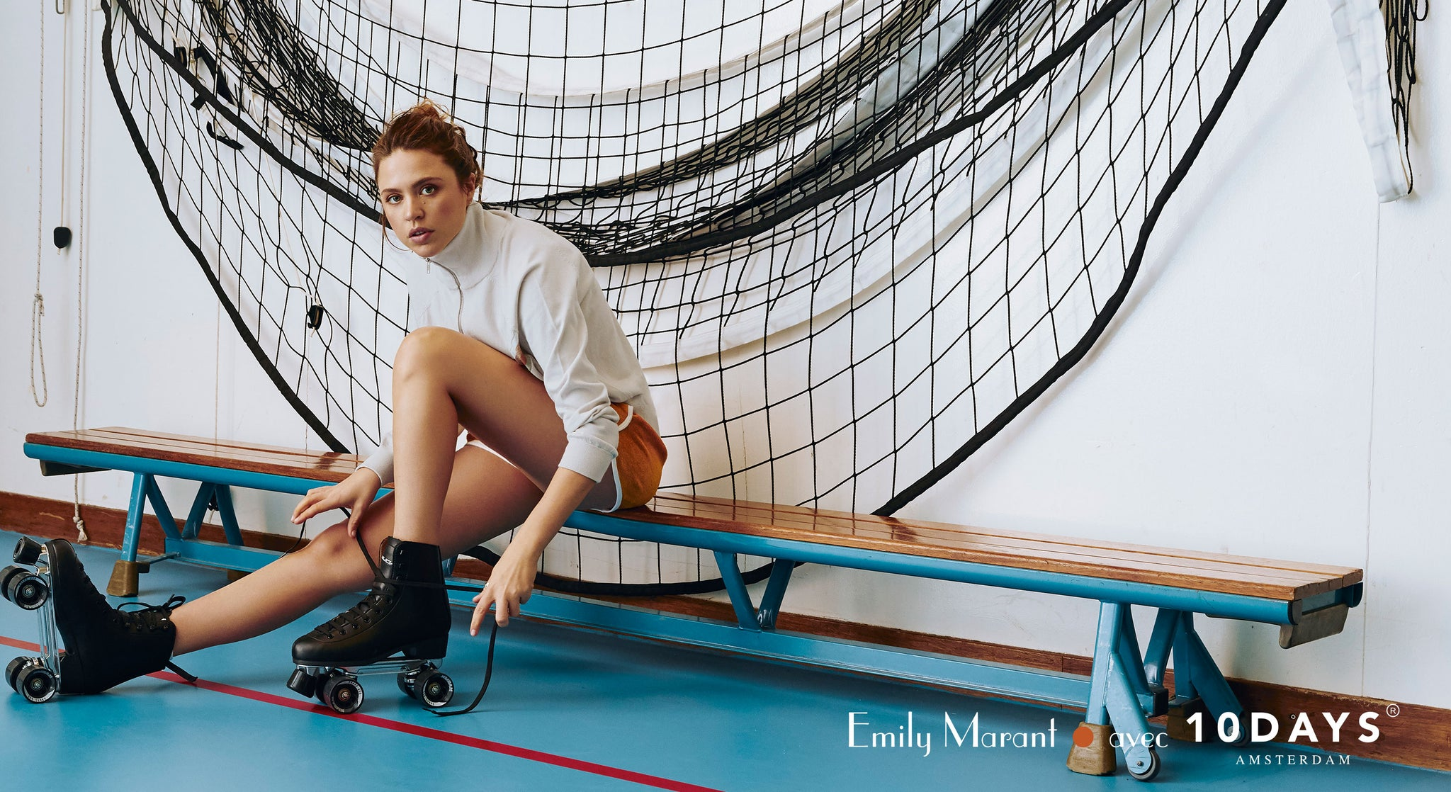 Emily Marant avec 10DAYS capsule collection