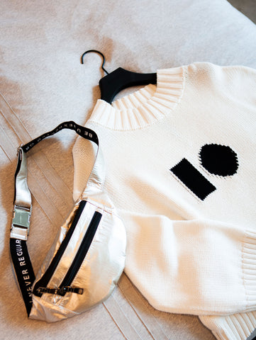 Chapter 8 sweater knit & fanny pack 10DAYS