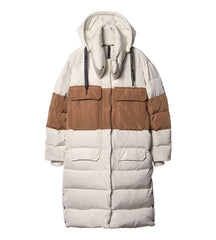 10DAYS Down jacket ecru camel