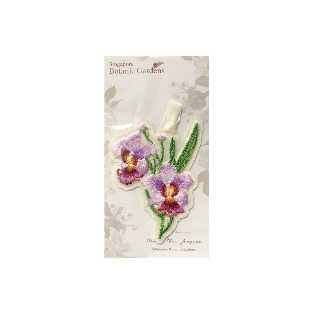 Vanda Miss Joaquim Embroidered Bookmark