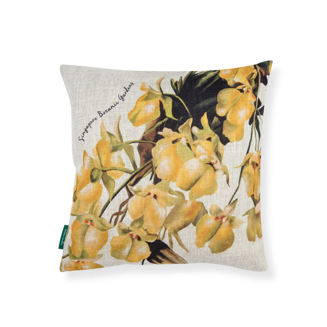 yellow-orchid-cushion-cover