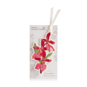 renanthera-embroidered-bookmark