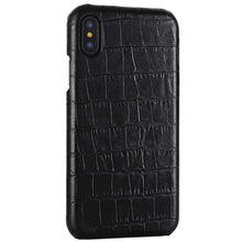 Premium Leather Luxury Case (Crocodile/Alligator Texture) for iPhone X/Xs