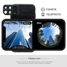 Dual Optic Lense System for iPhone X