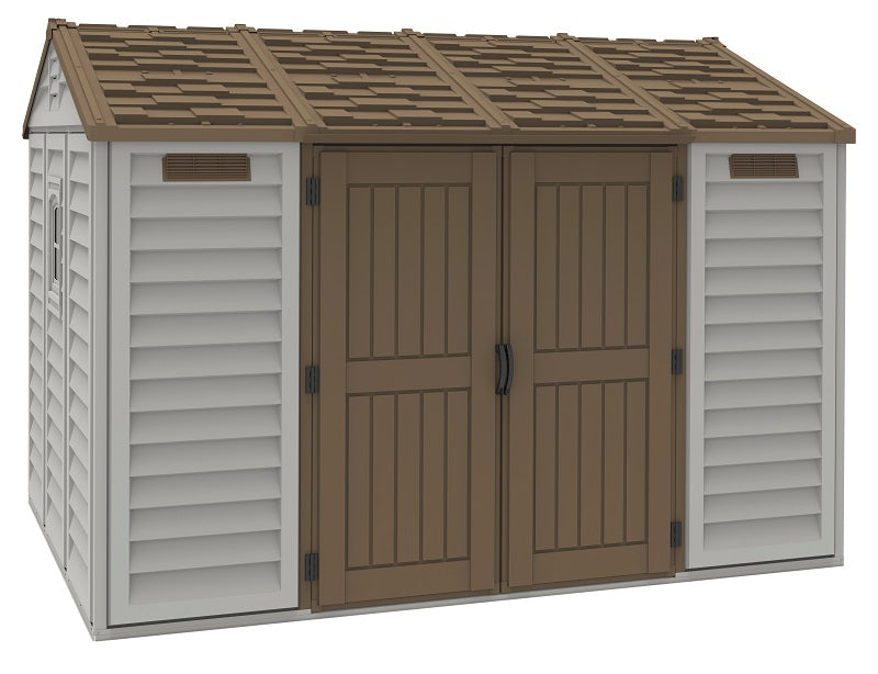 DuraMax Apex 10'x8' Vinyl Shed with Floor Kit (30116) - MKSheds