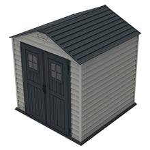 DuraMax 7'x7' StoreMax Vinyl Shed with Floor Kit (30325)