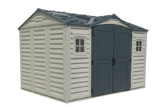 DuraMax Apex Pro 10.5'x8' Vinyl Shed with Floor Kit (40116) - MKSheds