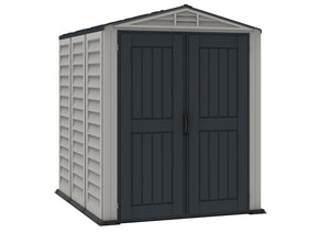 DuraMax Yardmate Plus 5'x8' Vinyl Shed with Floor (35825) - MKSheds