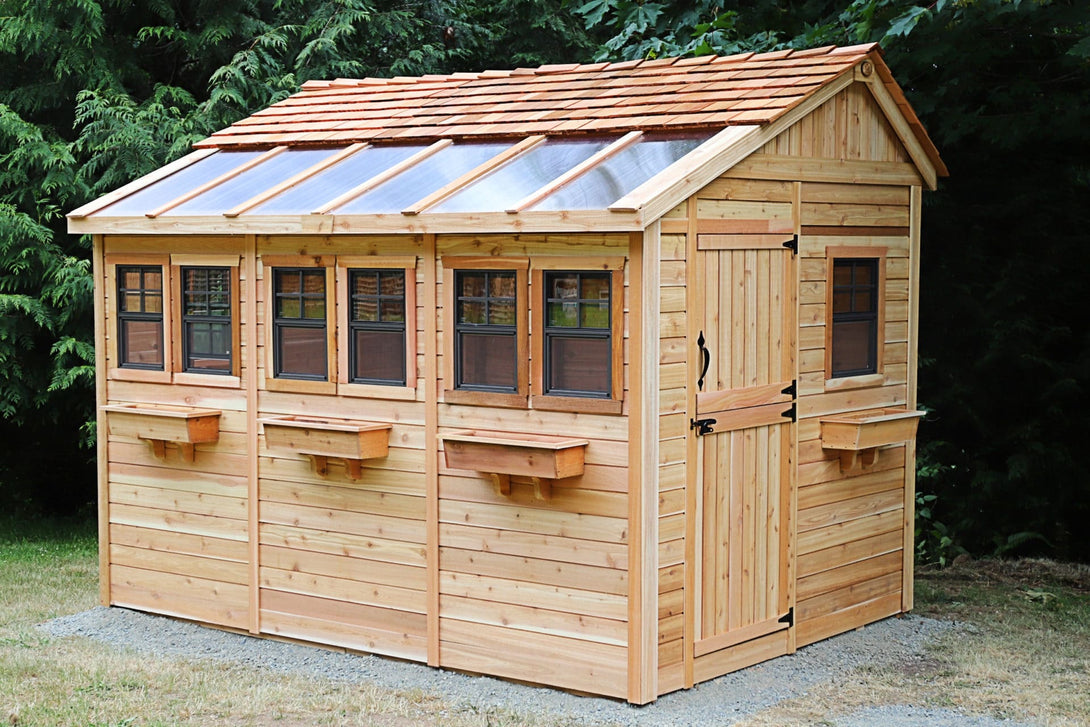 Outdoor Living Today 8'x12' Sunshed Garden Shed (SSGS812) - MKSheds
