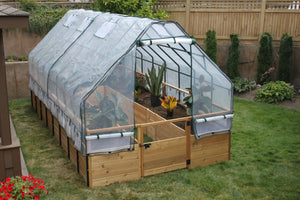 Outdoor Living Today 8'x16' Garden In a Box with Greenhouse Cover Kit (RB816GHO)