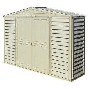 DuraMax 10'x3' SidePro Vinyl Shed with Floor Kit (98001) - MKSheds