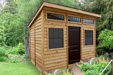 Outdoor Living Today 8'x12' Studio Garden Shed (STU128) - MKSheds