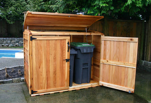 Outdoor Living Today 6'x3' Oscar Waste Management Shed (OSCAR63) - MKSheds