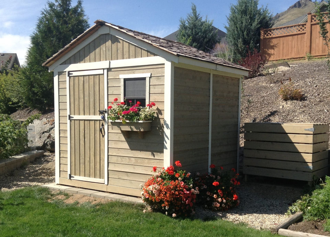 Outdoor Living Today 8'x8' Gardener Shed (G88) - MKSheds