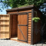Outdoor Living Today 8'x4' SpaceSaver with Double Doors (SS84DD) - MKSheds