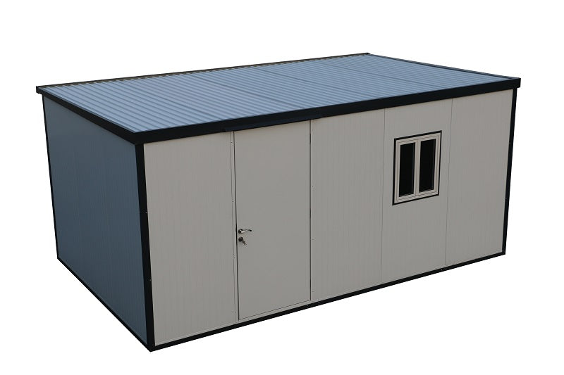 DuraMax Insulated Flat Roof Building with Window Kit and ...