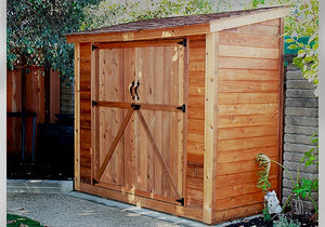 Outdoor Living Today 8'x4' SpaceSaver with Double Doors (SS84DBEV)